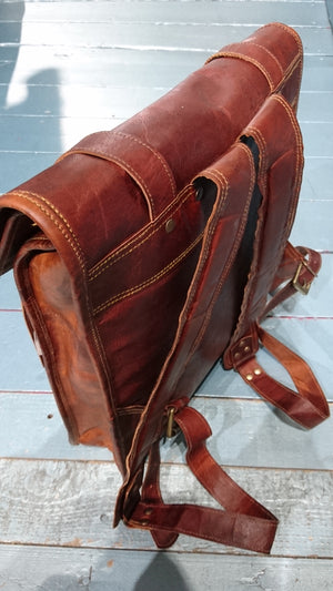 Leather bags and wallets