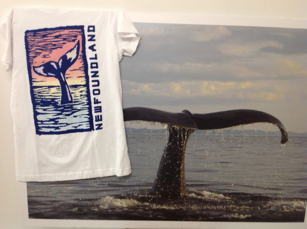 Whale Tail - Classic Crew Tee