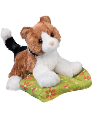 Cuddle Toys - handfull of cats & dogs