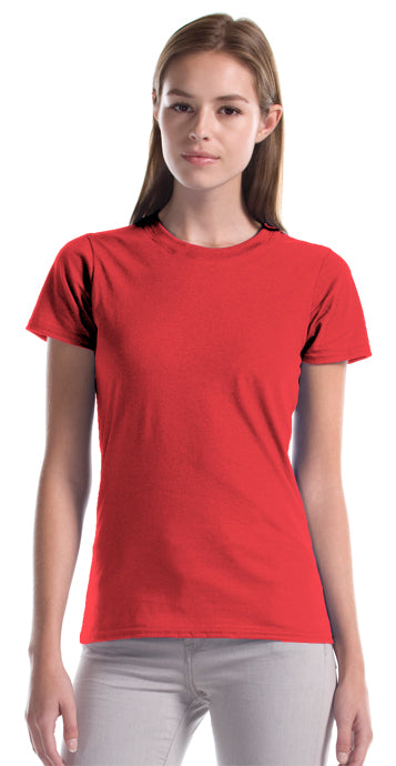 Ladies Ring Spun Cotton Tshirt