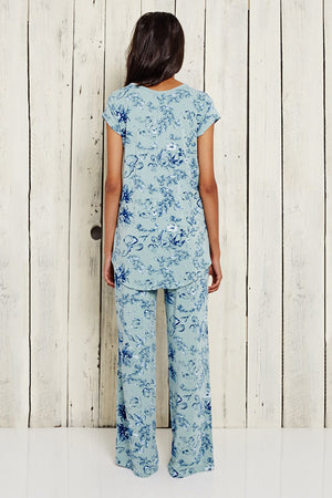 Bamboo PJ's - Made in Canada - Hand Printed