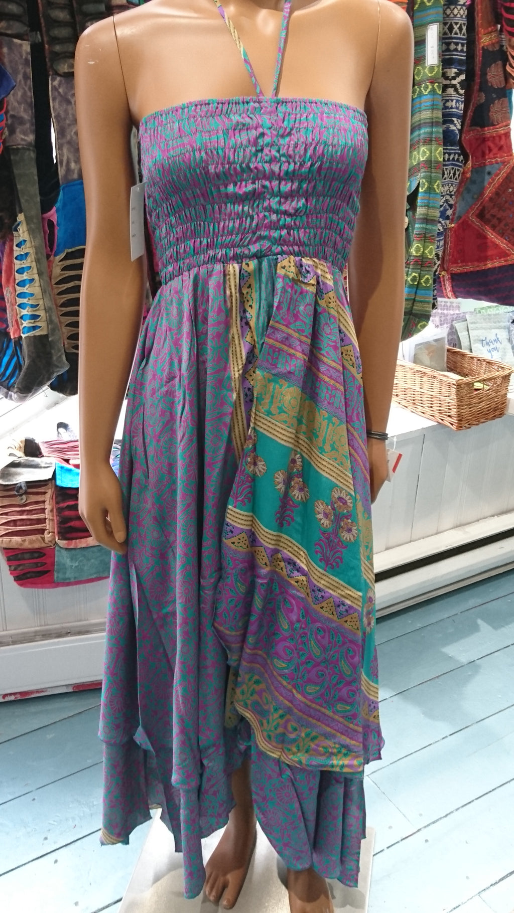 Exotica sari, dress, top, coverup