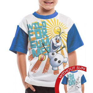 Olaf Wild for Summer - Kid's T-shirt