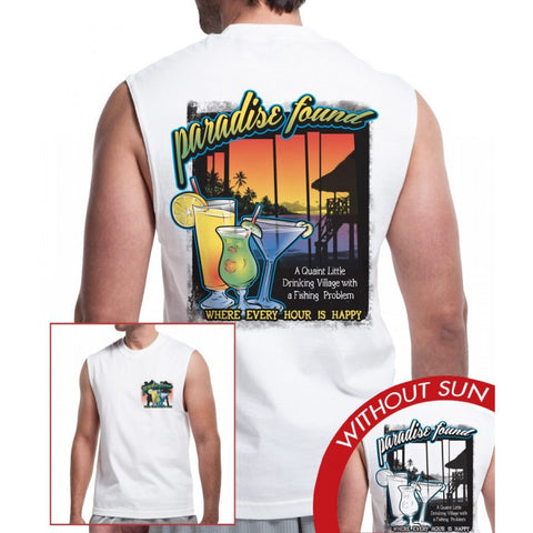 Muscle Tee - Paradise Found