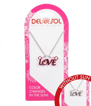 Color-Changing Necklace - Love