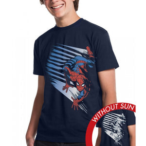 Marvel Spiderman Crawl - YouthTshirt