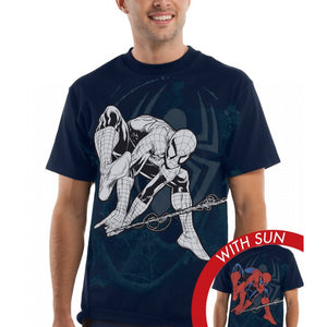 Spiderman Adult Tshirt - Web Slinger