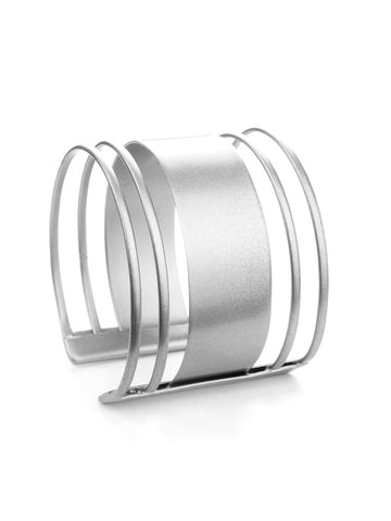 Copy of Criss-Cross Silver Cuff