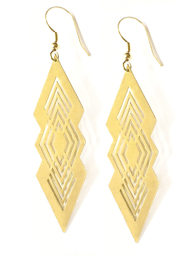 Modern Imprint earrings