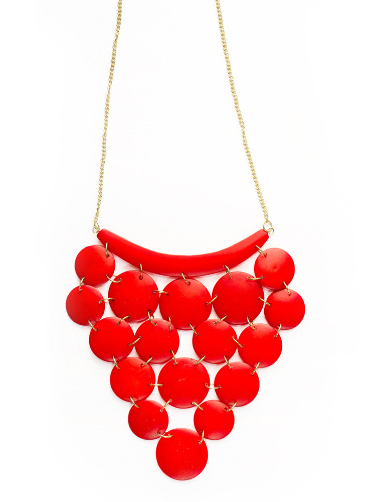 Red Jewel of the Nile Necklace