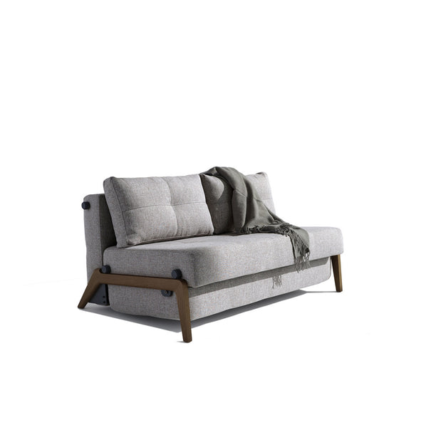 Stretch Sofa Bed - Wood Legs (Double/Queen)