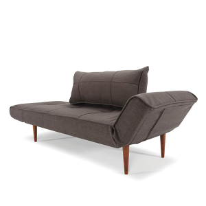 Freud Day Bed - Dark Wood Legs