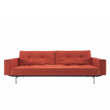 Armed Mob Sofa Bed (Steel Legs)