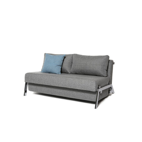 Stretch Sofa Bed - Chrome Legs (Double/Queen)