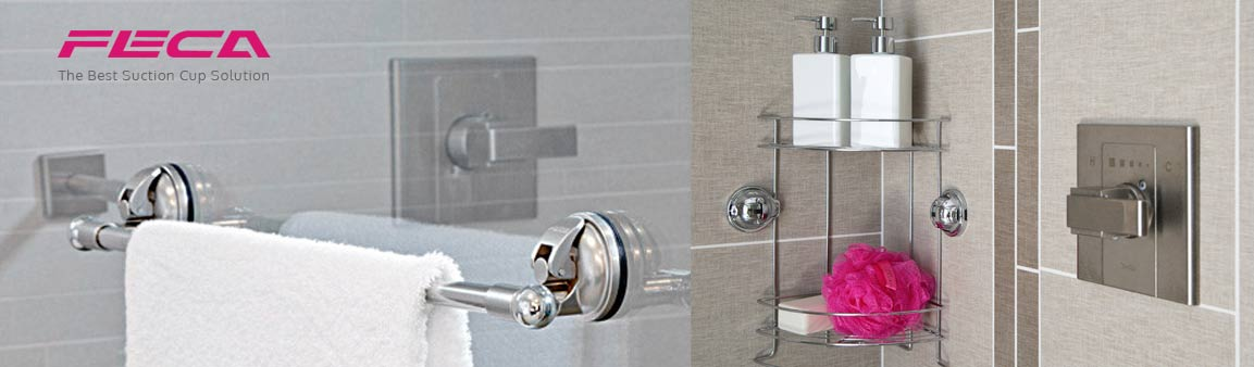 Moveable Bathroom Wall Hooks