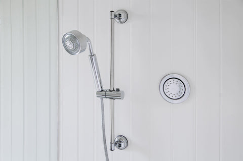 adjustable hand shower holder suction mount wall