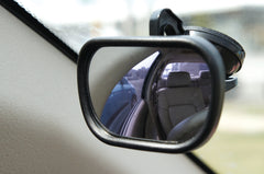 blind spot mirror black suction car adjustable angles