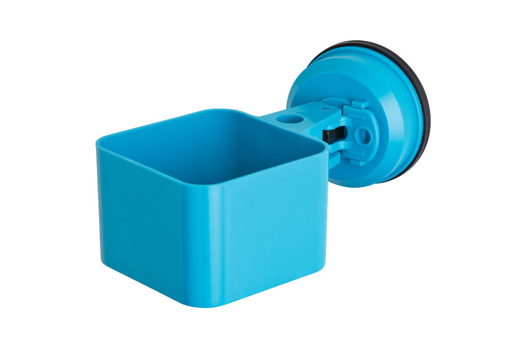 catchall holder blue suction office supplies
