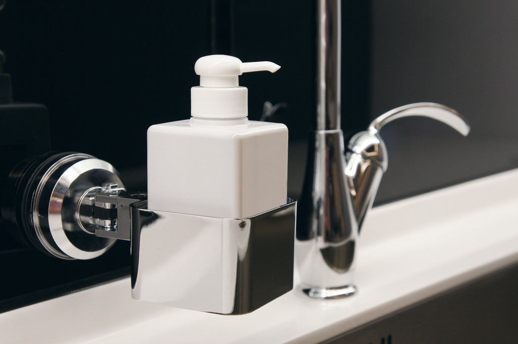 catchall holder chrome suction bath wall tiles