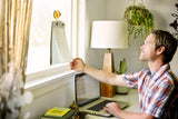 color pop medium suction hook yellow 7 hang window note clickboard