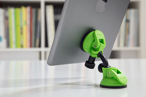 compact swivel mobile tablet stand green suction cup swivel ipad