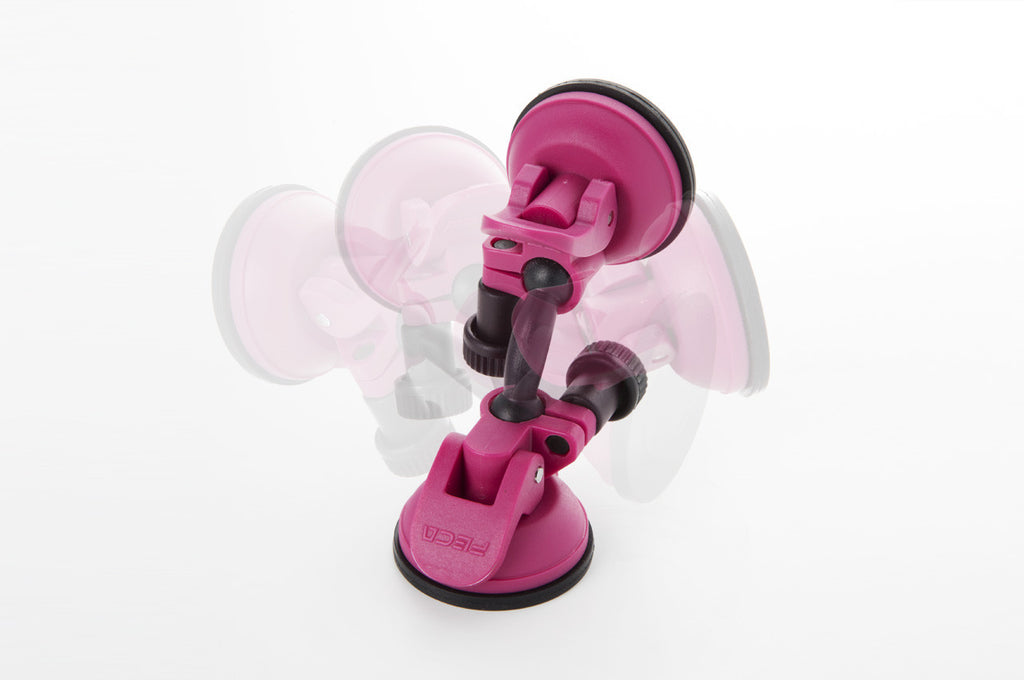 compact swivel mobile tablet stand rose bloom suction rotation adjustable knob