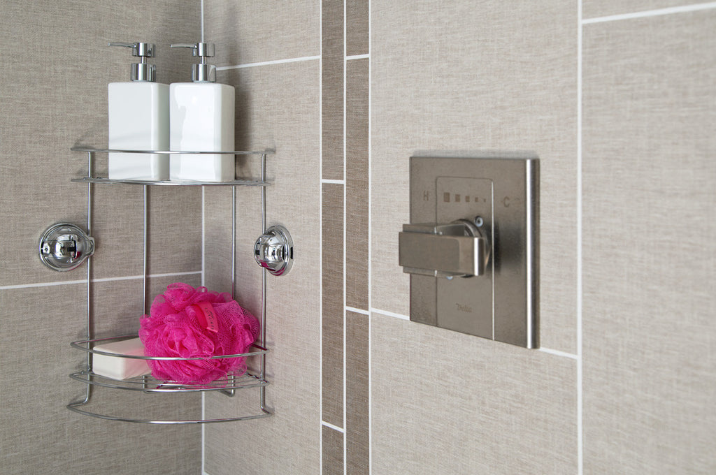 Double Tier Corner Shower Caddy – FECA USA