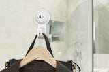 flat suction bag hook white suction hanger clothes glass