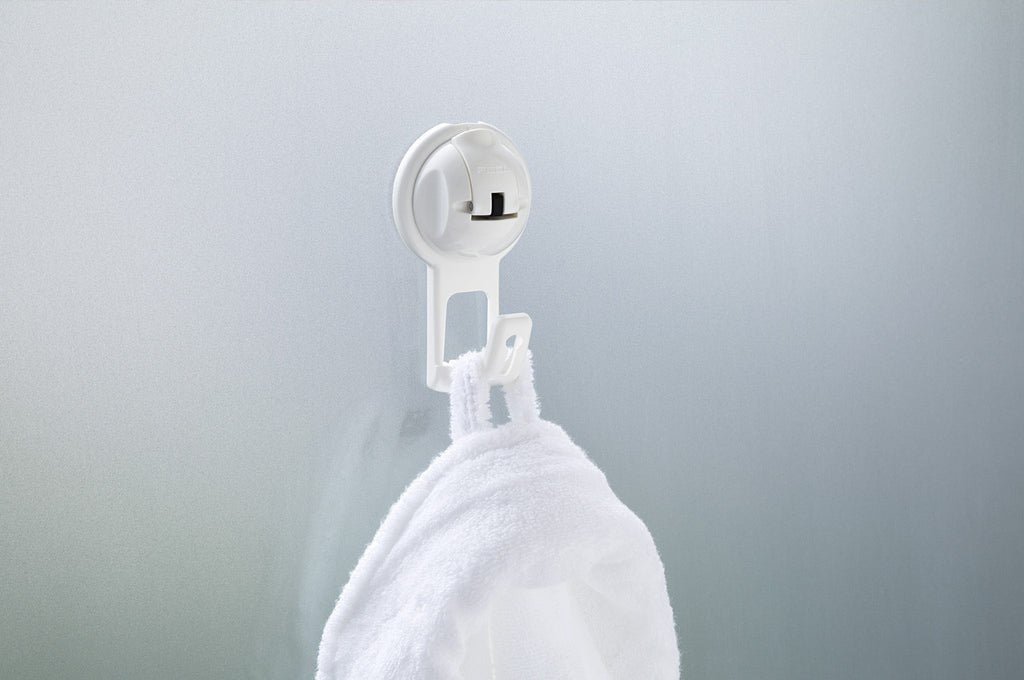 flat suction bag hook white suction towel glass bath