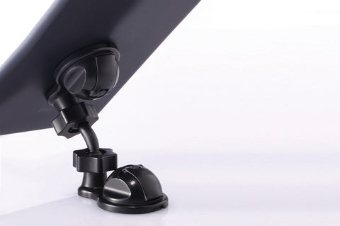 swivel mobile tablet stand black suction cup ipad viewing