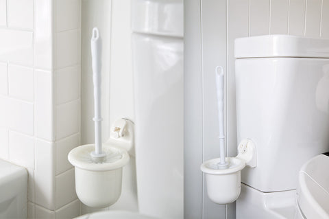 toilet brush set suction bathroom removable cup