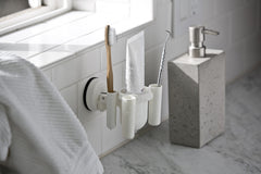 toothbrush holder suction toothpaste tools tile