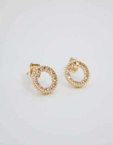 Small Halo Earring