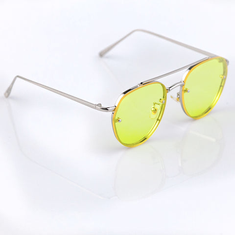 hipster sunglasses yellow lens