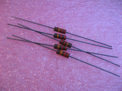 Resistor Carbon Composition 22000 Ohms 20% 1/2 Watt 5-Pack