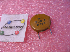 Capacitor Ceramic Disc 200pF 5% Radial N150