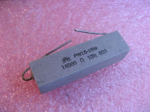 Resistor Ceramic Cement 16K 10% 15 Watt IRC PW15-15W