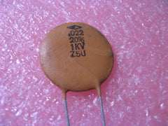 Capacitor Ceramic Disc .022uF 20% 1000V Radial Z5U