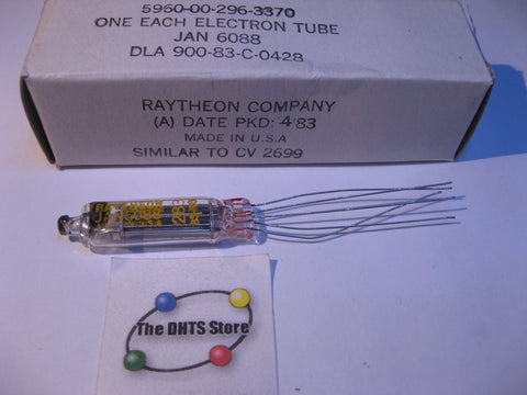 Vacuum Tube JAN-6088 Raytheon Sub-Miniature Power Amplifier