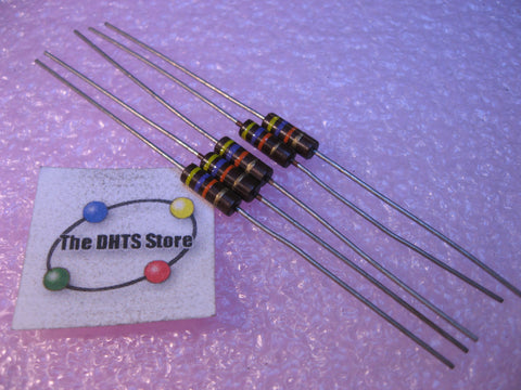 Resistor Carbon Composition 47000 Ohms 5% 1/2 Watt 5-Pack