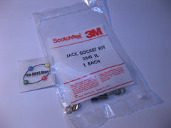 Jack Socket 3M 3341-1L Connector D-Sub Mounting Hardware