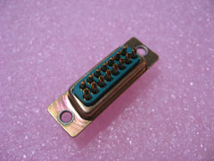 Connector D-Sub GAM-15S 15 Pin Female Solder Cup Metal Body