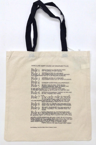 Ten Rules Tote