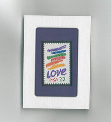 Framed Love Stamp