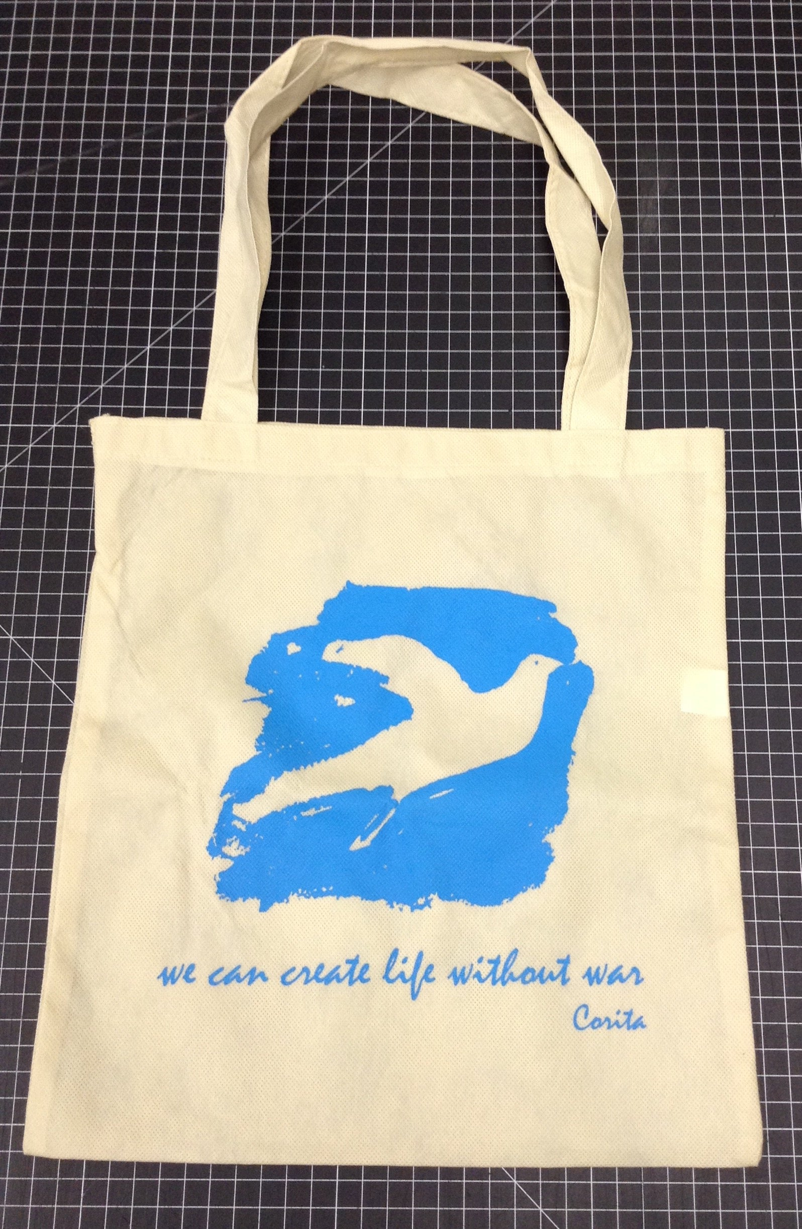 Life Without War tote bag