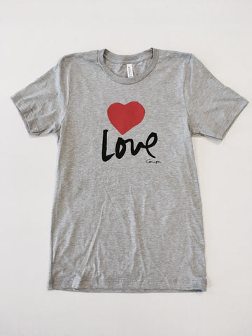 Love Shirt - Gray