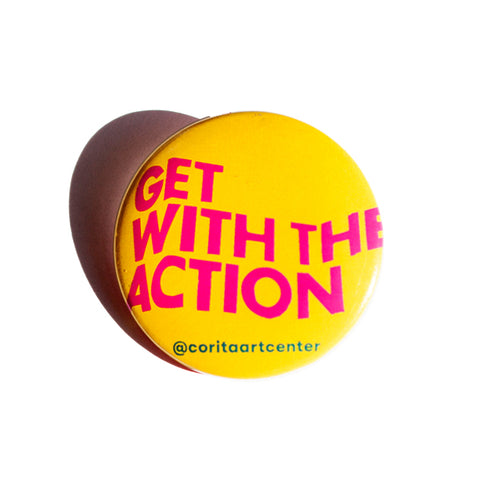 Get With the Action button - Yellow
