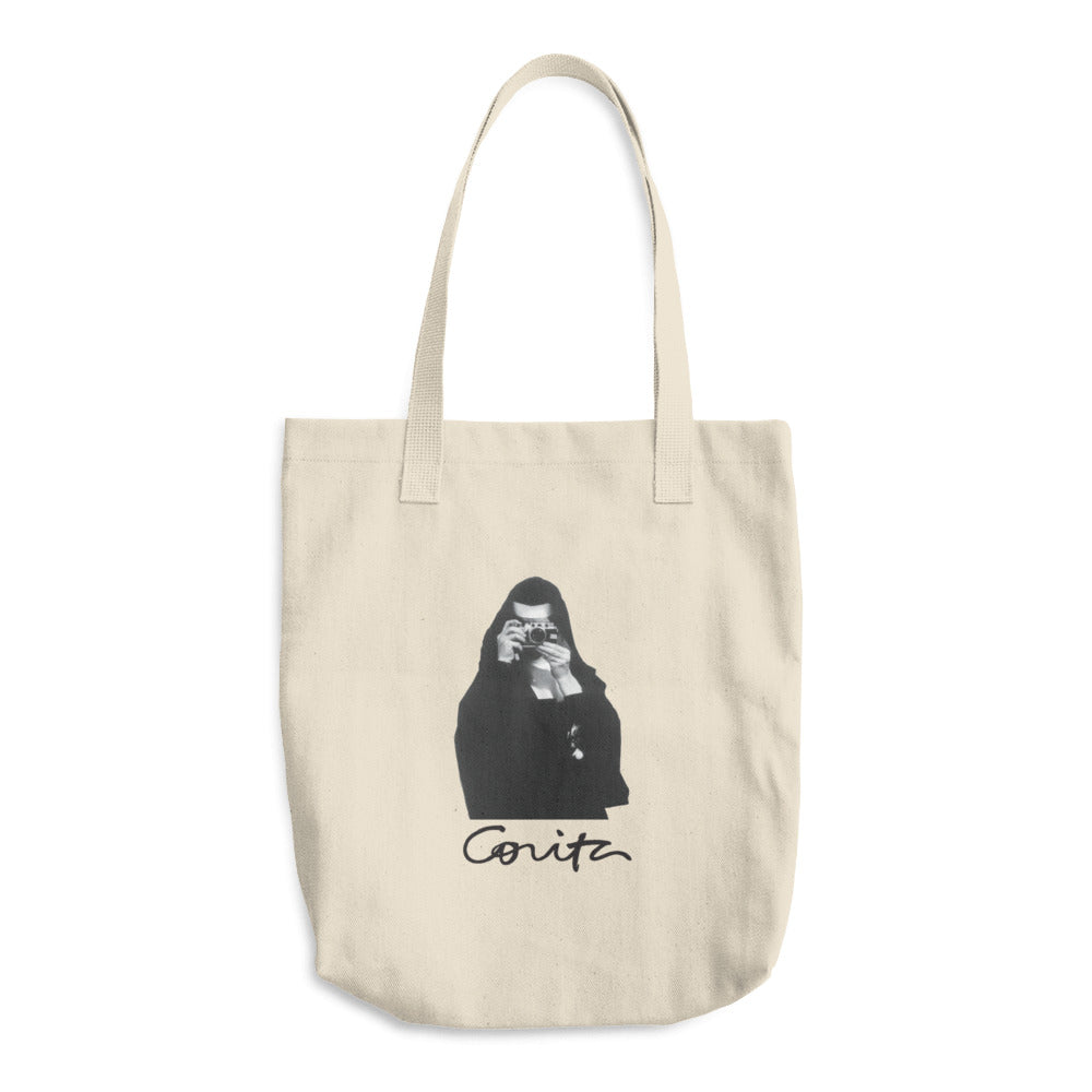 Corita Photograph Tote Bag