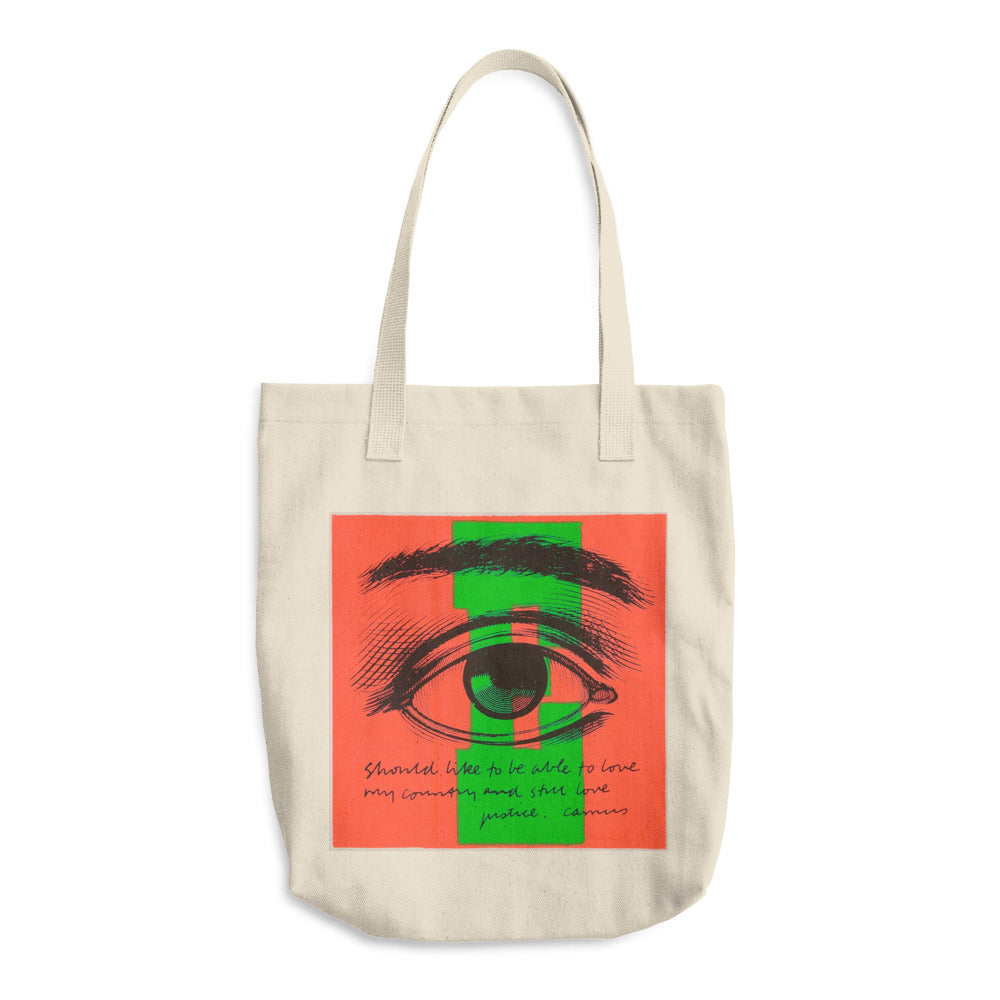 E Eye Love Tote Bag