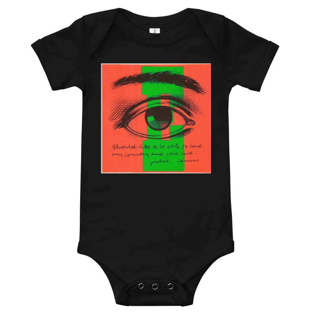 E Eye Love Infant Onesie